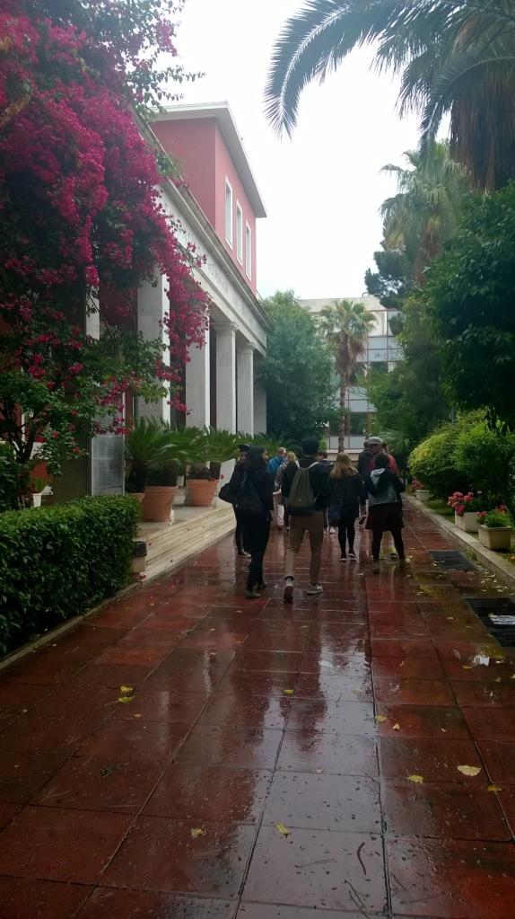 Weg zur Panteion University