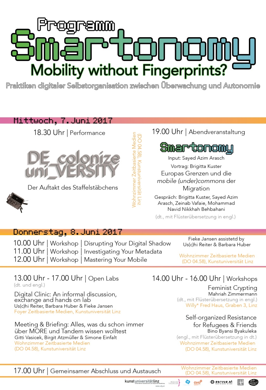 Smartonomy. Mobility without Fingerprints? | master zeitbasierte medien